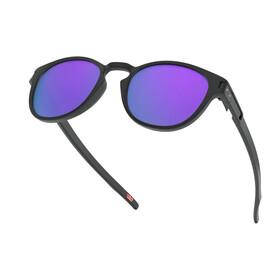 Oakley Latch Gafas de Sol Mujer, negro/violeta